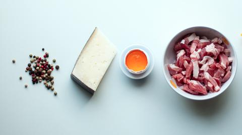 Ingredients for Carbonara, Getty Images